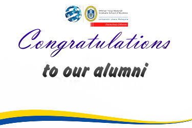 CONGRATULATIONS TO OUR ALUMNI